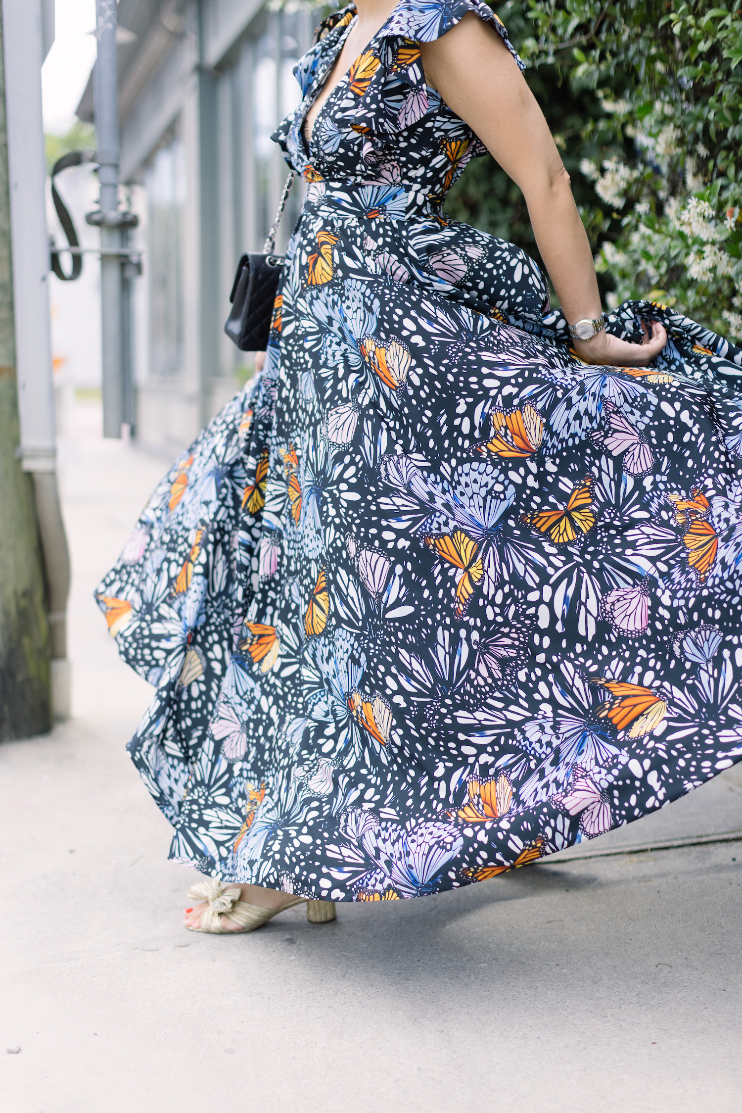 Butterfly Print Maxi Dress   A Hilarious TV Show, A New Jewelry Find, and Other Good Things.