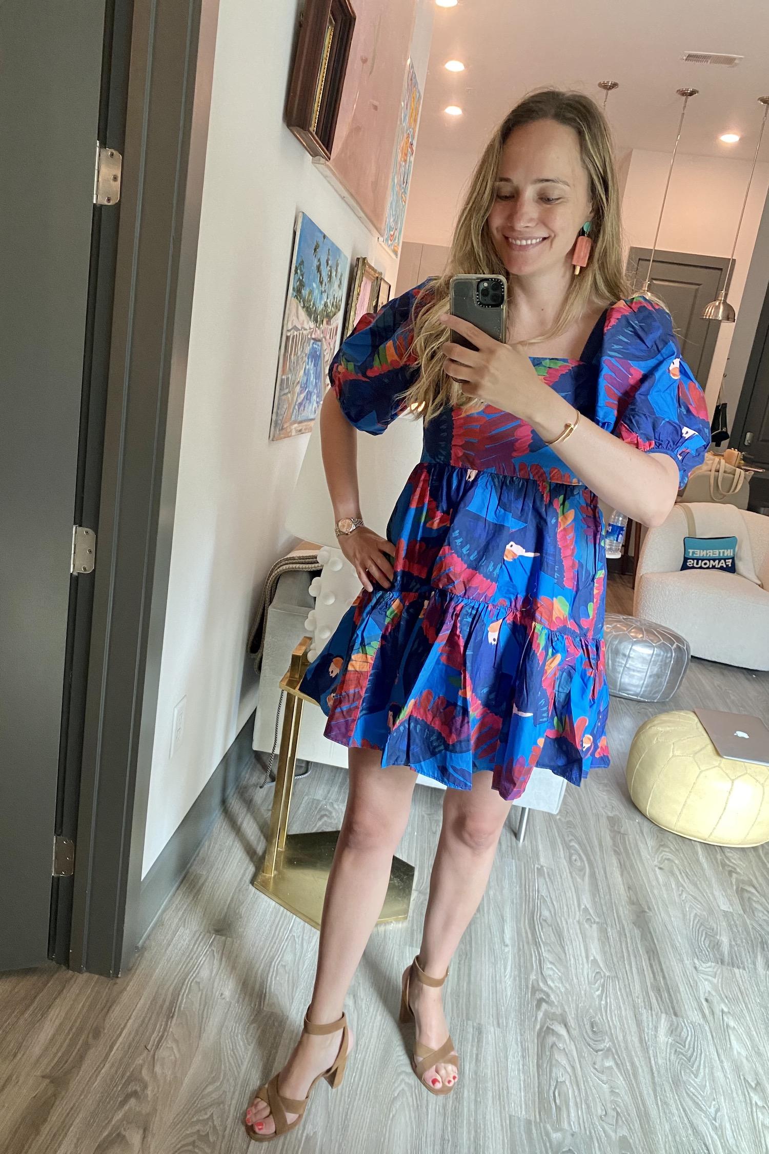 Farm Rio dress | What I Wore Last Week 6.2.21