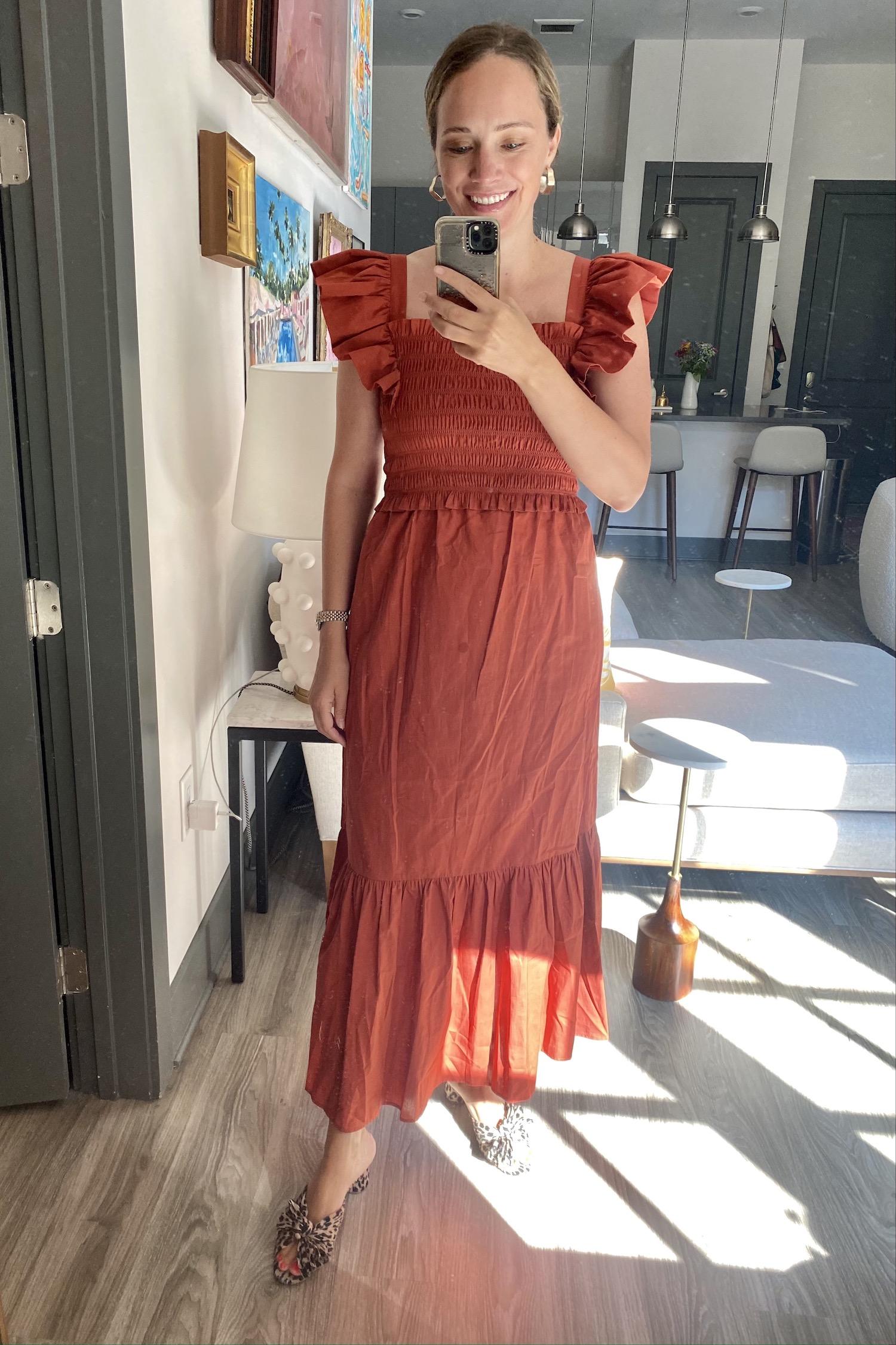 Wore this SEA dress