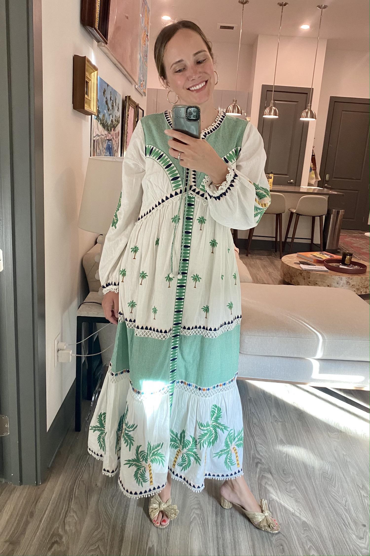 Farm Rio dress | Last Week in Outfits 6.28.21