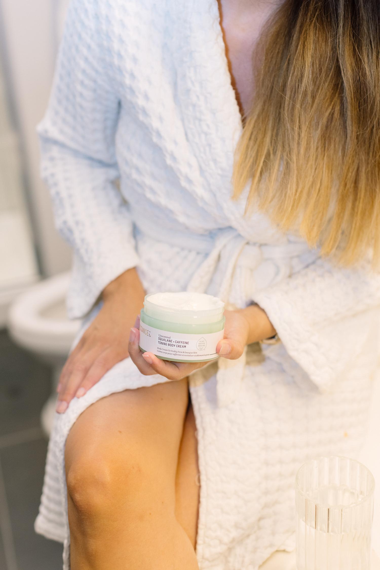 Squalane and Caffeine Body Cream Review