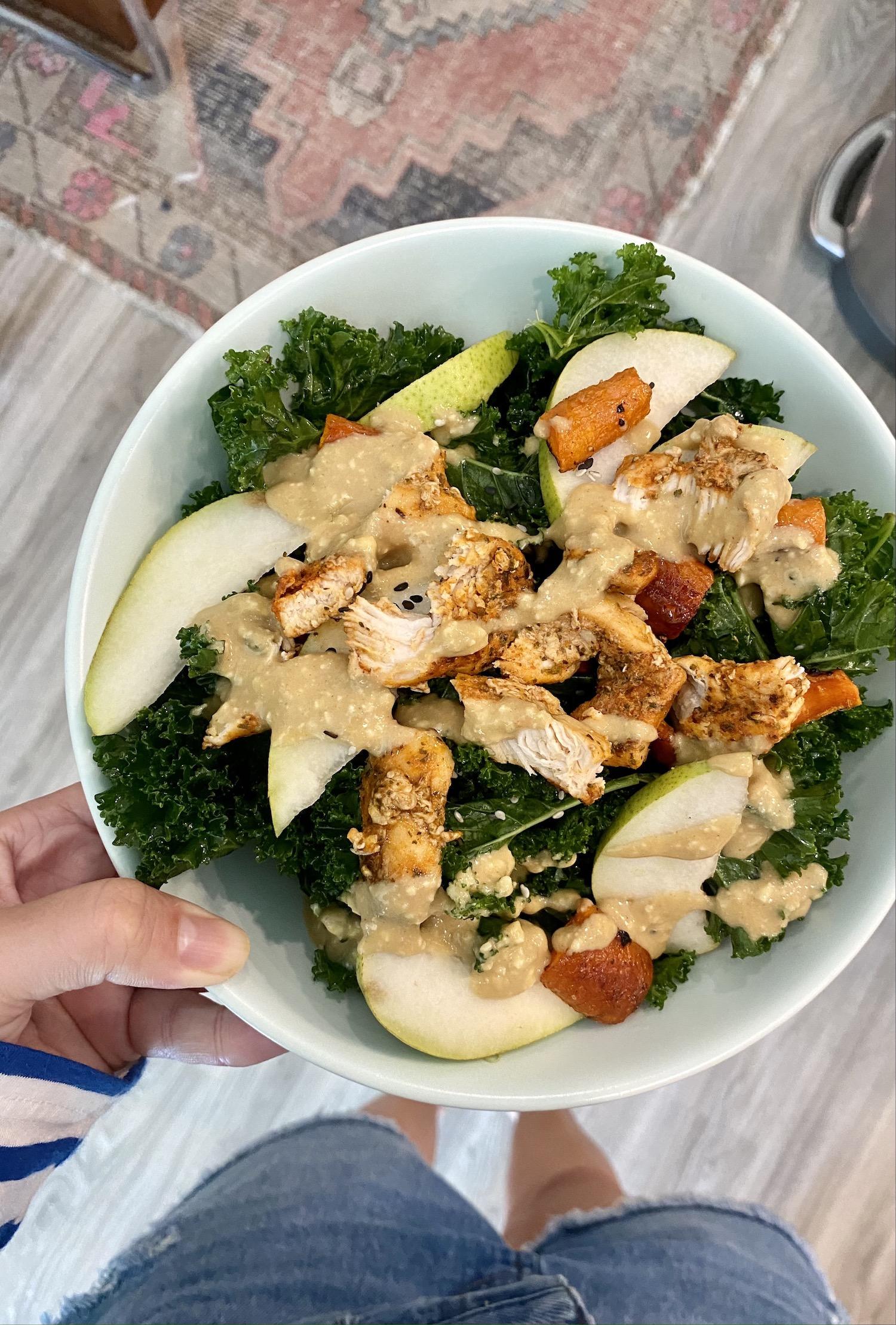 how to make Sesame-Dijon Salad Dressing
