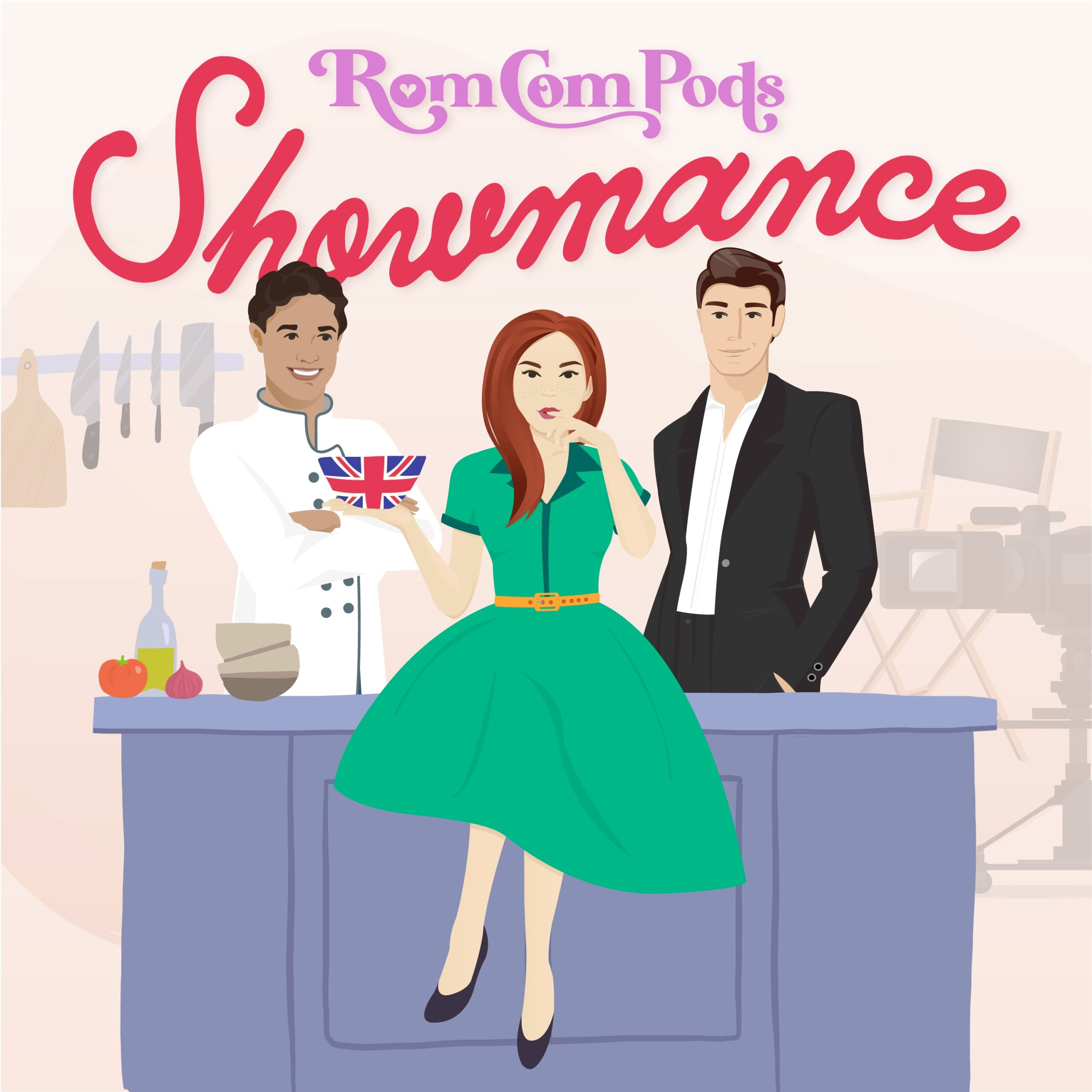 RomComPods Showmance | A Beachy Brand I Love, Pretty Knives, the new RomComPods and More Good Things.
