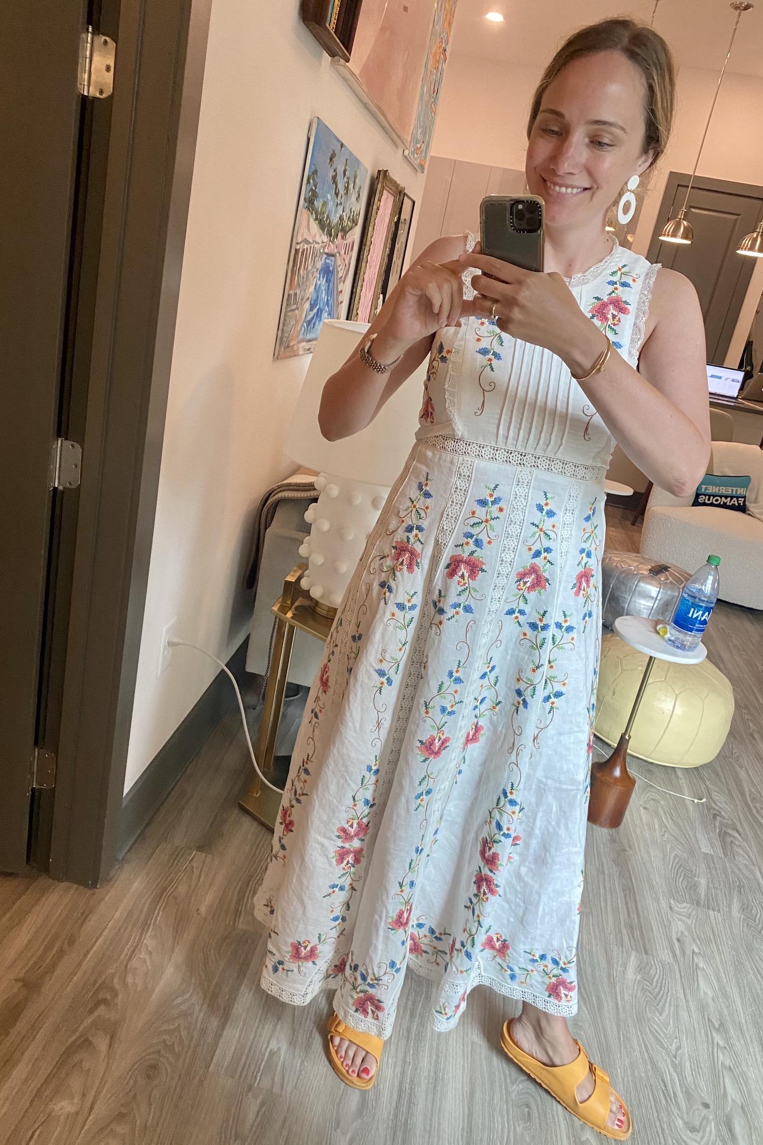 Zimmermann dress | Everything I Wore Last Week
