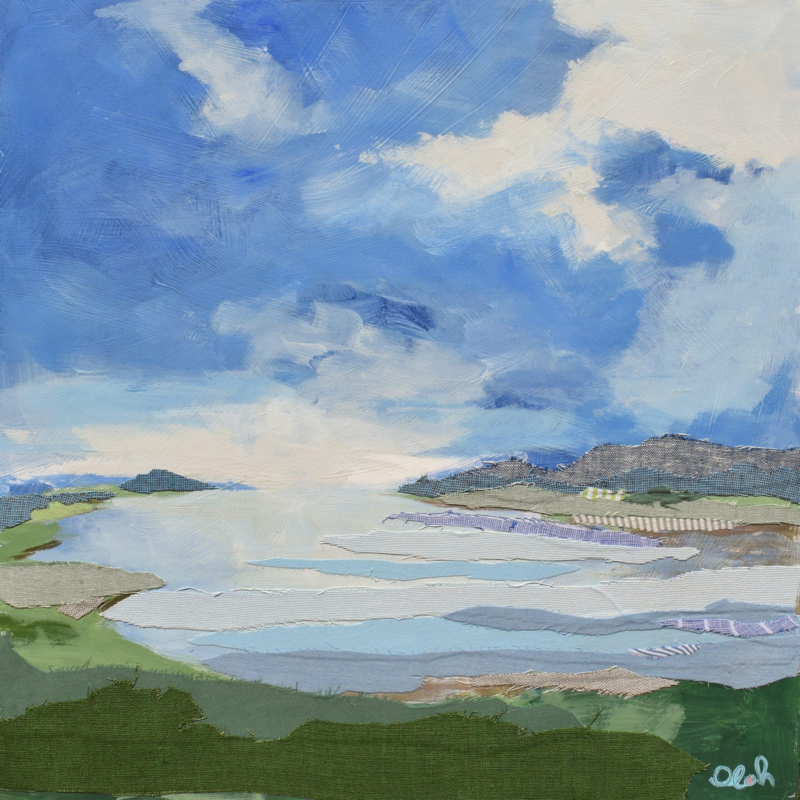 Karin Olah painting