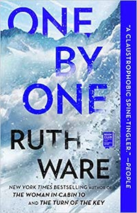 One by One by Ruth Ware | Everything I Read in July 2021