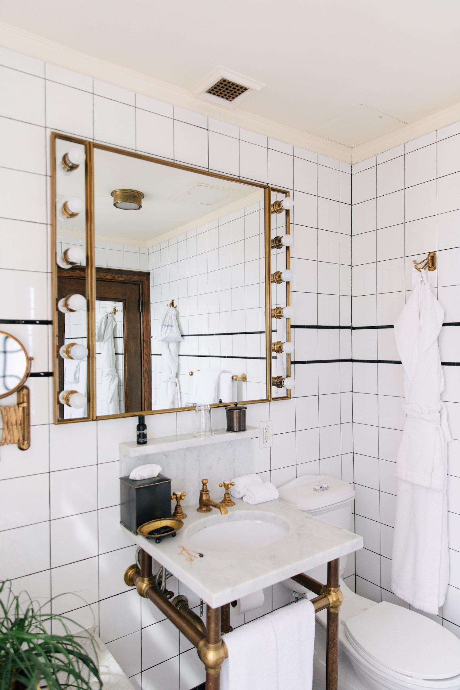 The Ludlow Hotel Bathroom