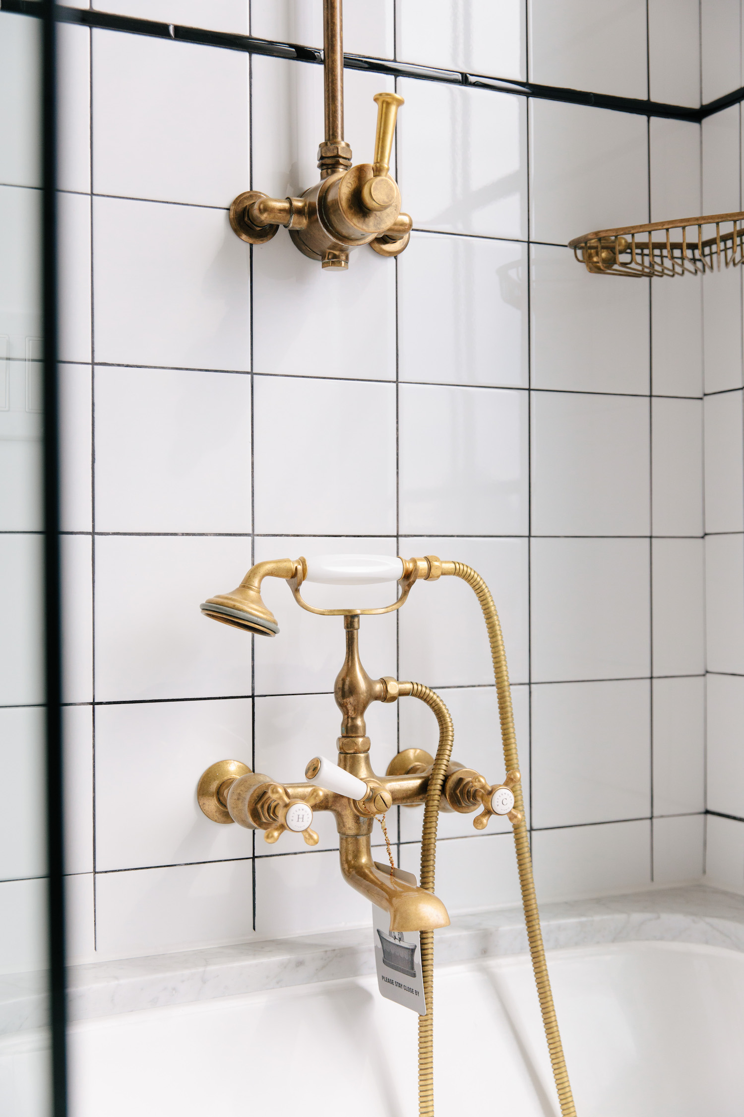 Industrial Style Hotel Bathroom