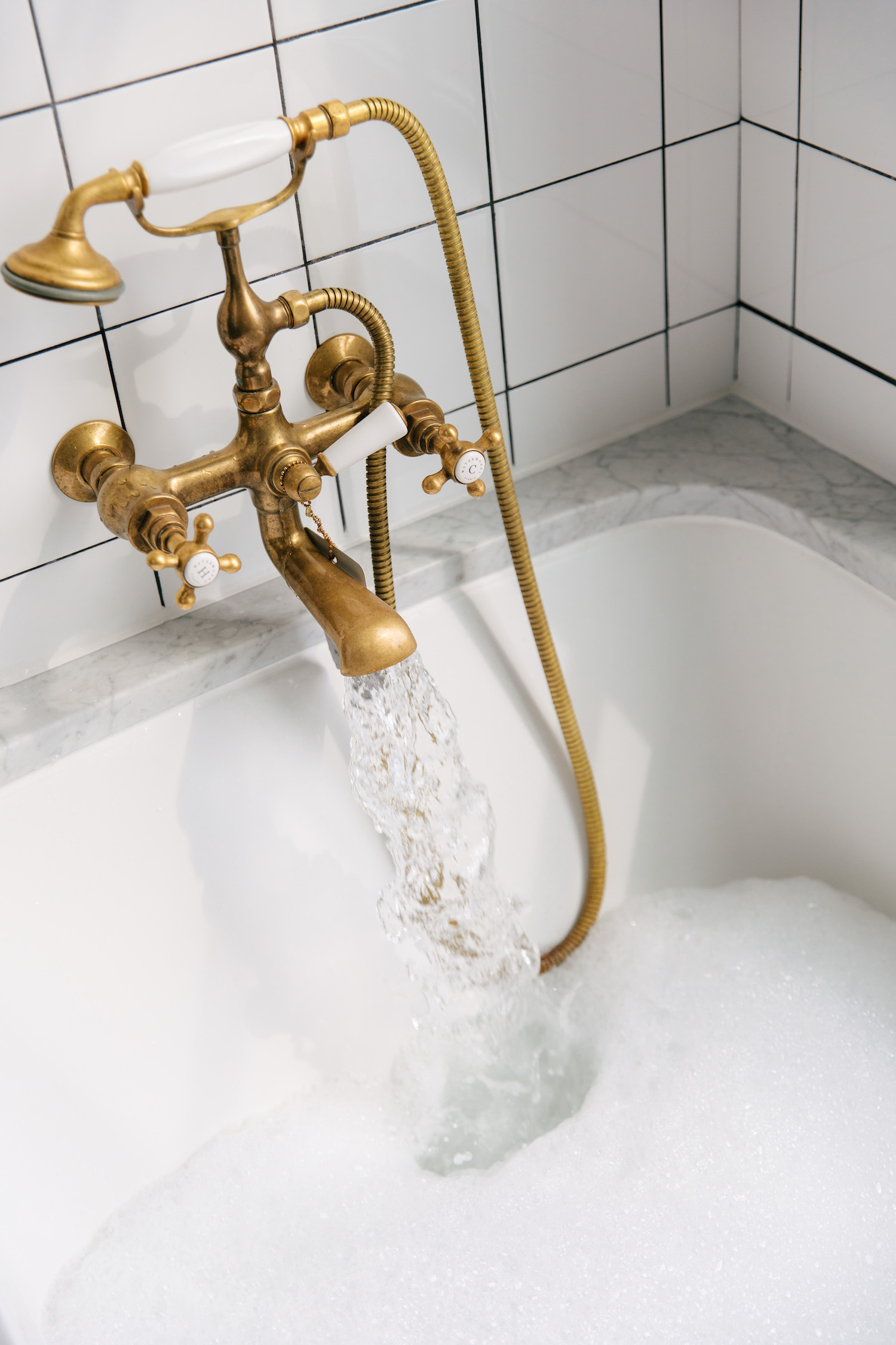 The Ludlow Hotel Bath tub