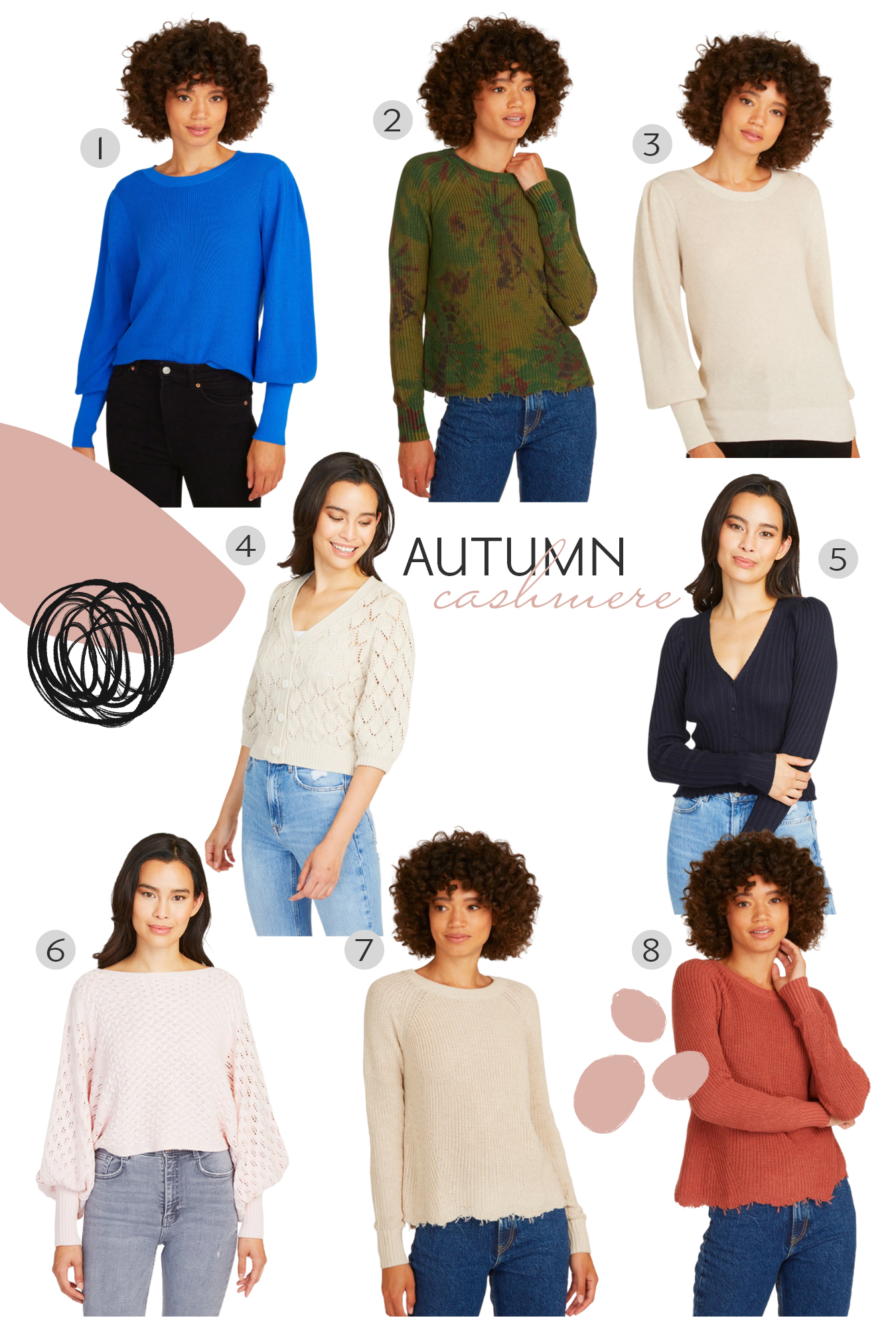 Autumn Cashmere Favorites for Fall