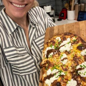 Hot Truffle White Pizza Recipe!