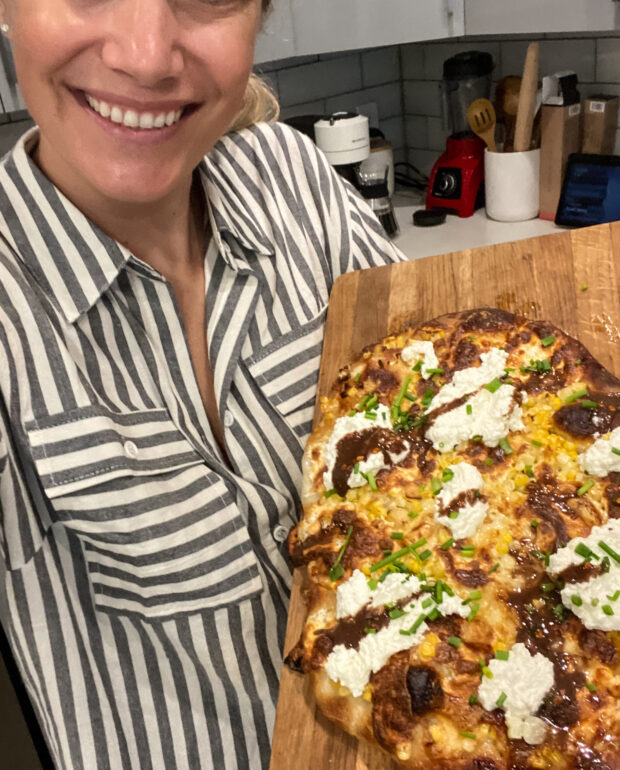 Hot Truffle White Pizza Recipe