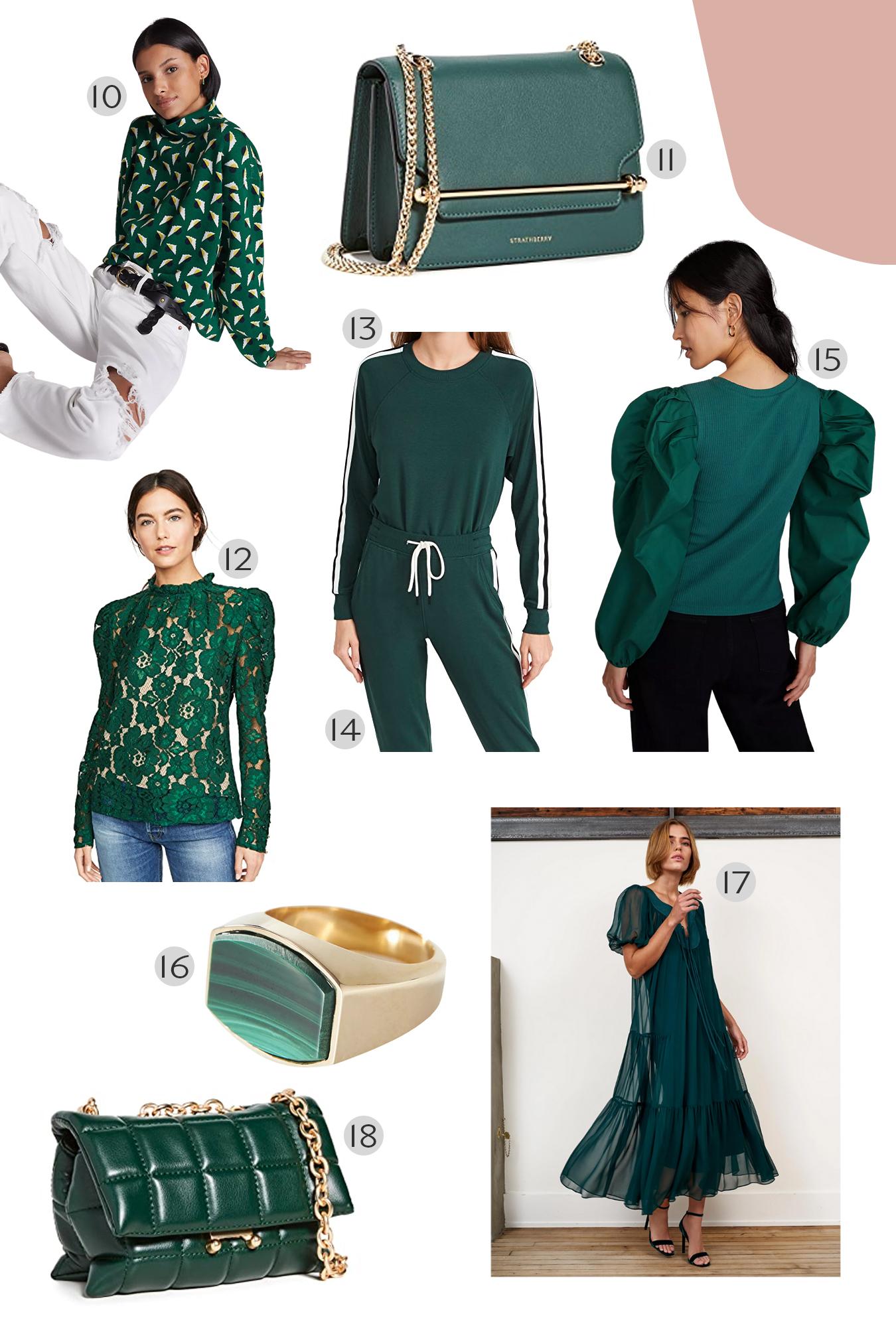Forest Green Fashion