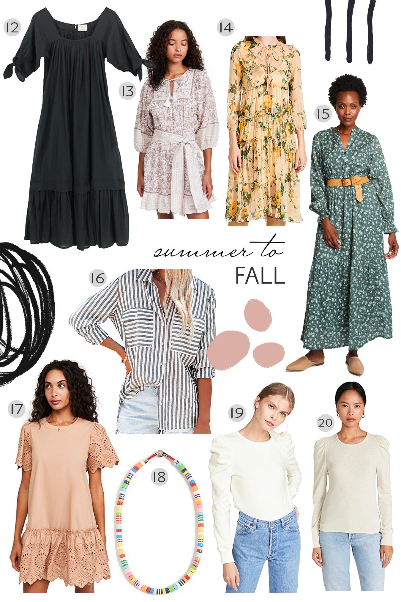 Recent Fall Favorites
