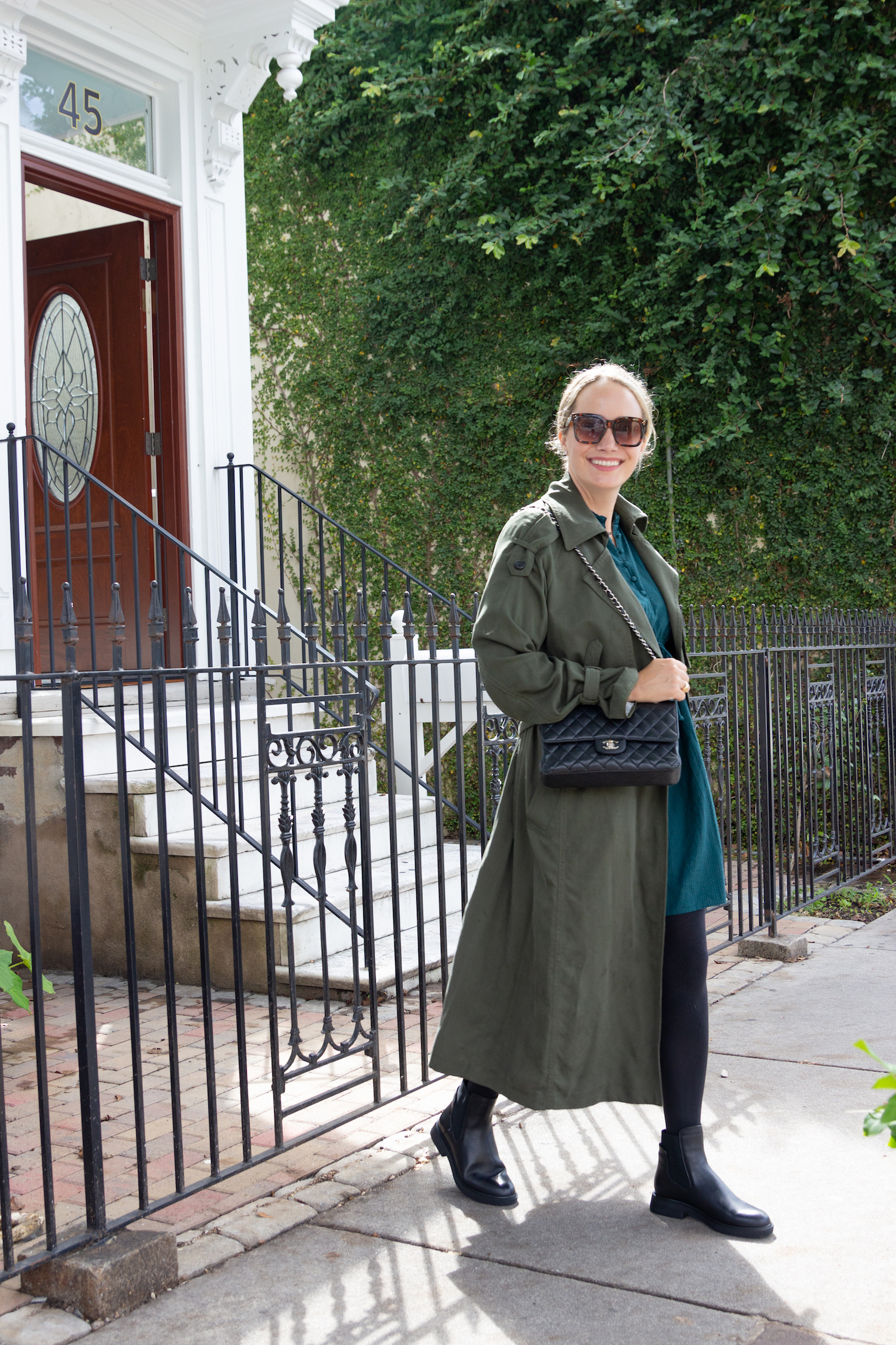 Franco Sarto Chelsea boot   Two Fun Fall Outfits