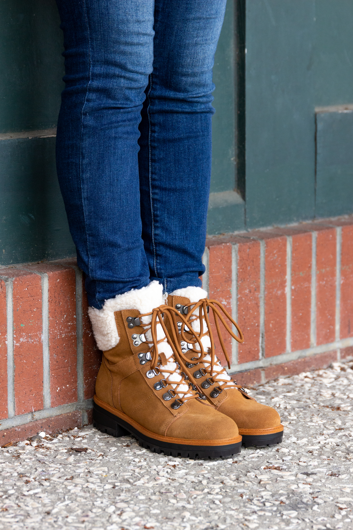 Fall hiking boots